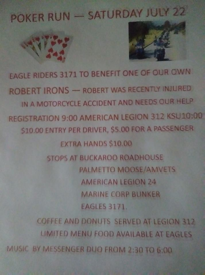 Poker Run July 22