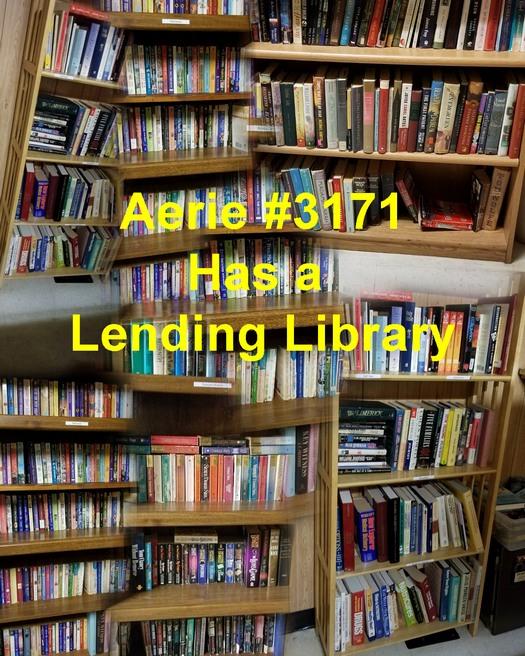 Aerie #3171 Book Lending Library