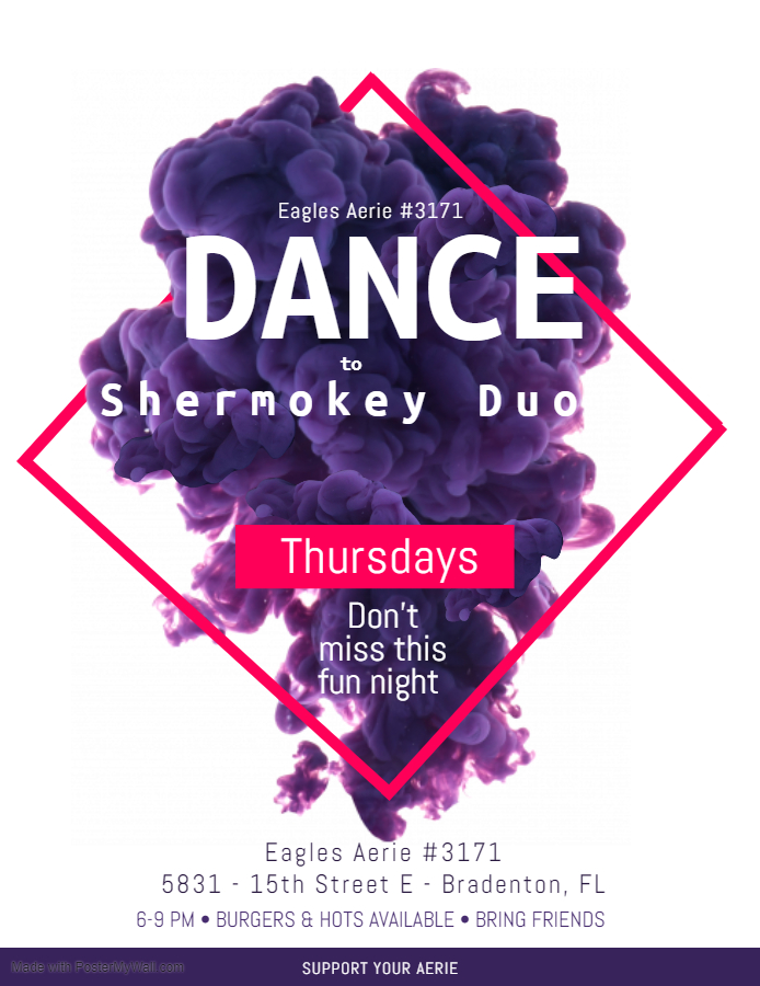 Thursday Shermokey Dance