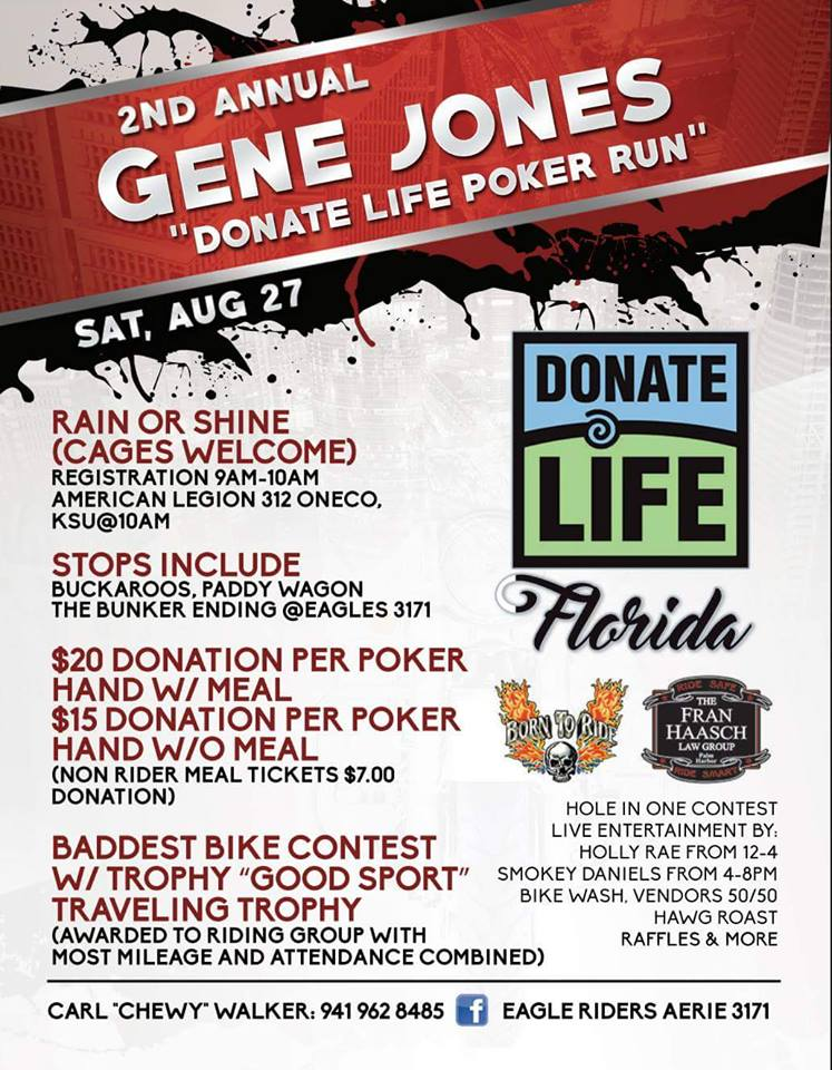 Gene Jones Poker Run