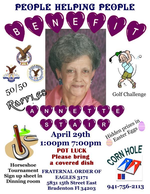 Benefit for Annette - April 29, 2017